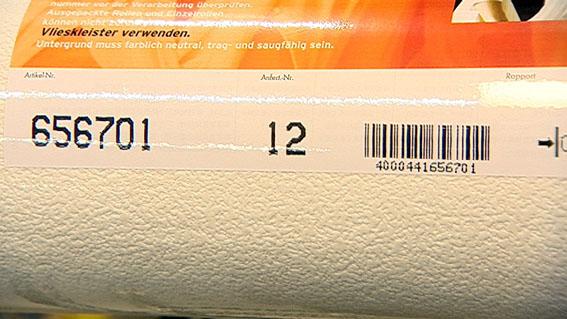 Vliestapeten Richtig Tapezieren : Achtung! Beachtet werden muss beim Tapetenkauf immer die Artikel- und