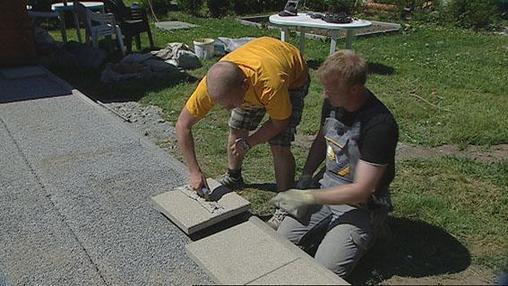Neu Zur Sendung vom 24. Mai 2011- Wie baue ich eine Steinterrasse  YO58