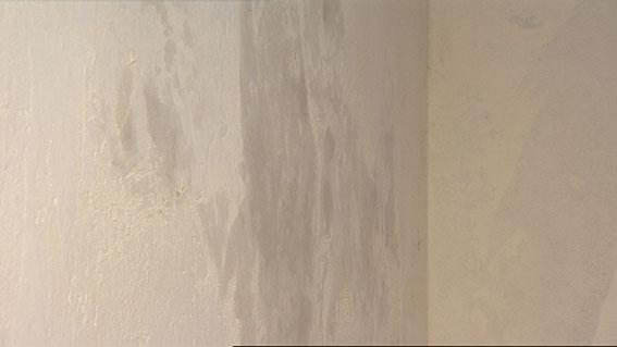 Wie Werden Vliestapeten Tapeziert : Eine Stunde m?ssen Tapetengrund und Spachtelmasse trocknen.