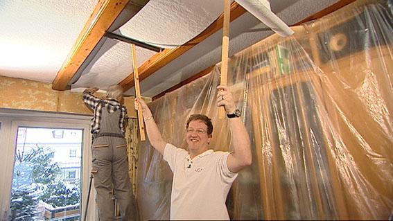 halten abgehangene deckenplatten